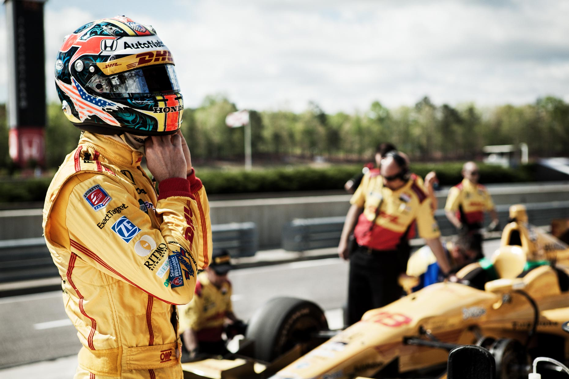 Ryan Hunter-Reay gearing up